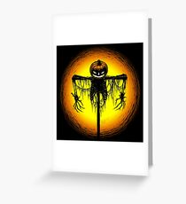 Killing Moon Greeting Card