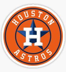 Houston Astros Color Swap Logo Sticker