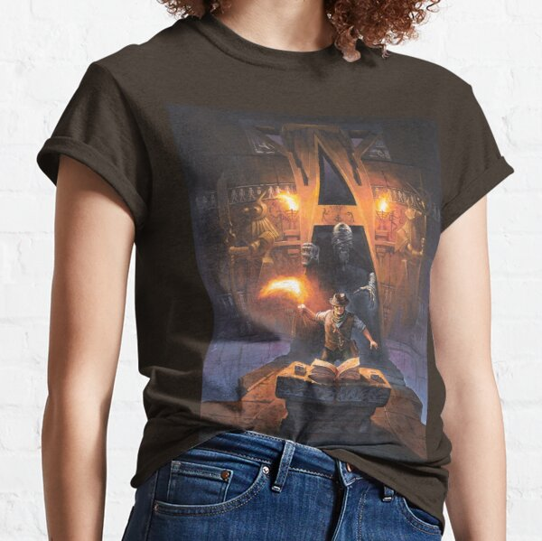 Cthulhuween Day 17 - Gateways to Terror Cover by Mariusz Gandzel Classic T-Shirt