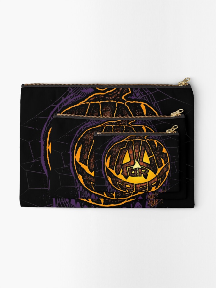 Alternate view of Trick or Treat! Zipper Pouch