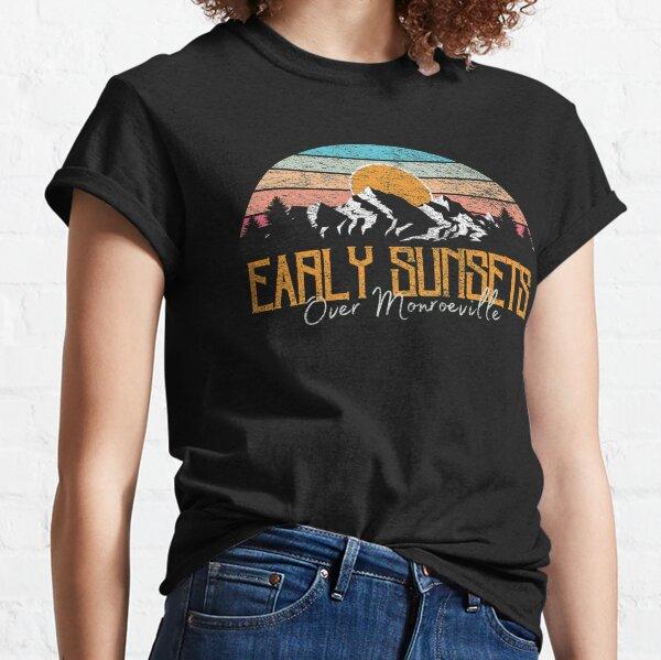 Puestas de sol tempranas sobre Monroeville Camiseta clásica