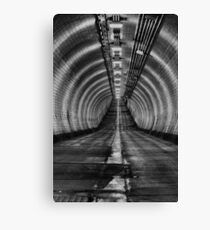 Woolwich foot tunnel Canvas Print