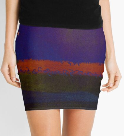 Purple Dreamland Mini Skirt