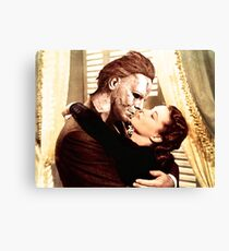 Michael Myers as Clark Gable Canvas Print