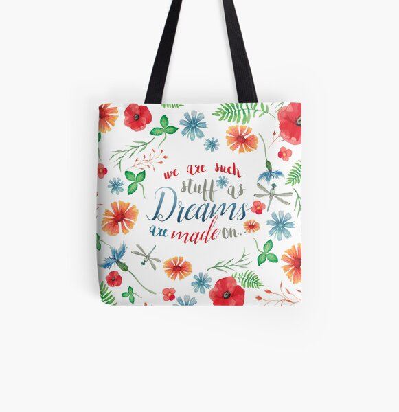 SHAKESPEARE: WE ARE DREAMS All Over Print Tote Bag