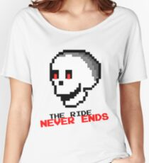 """RCT - Mr. Bones: """"The Ride Never Ends!"""" Relaxed Fit T-Shirt"""
