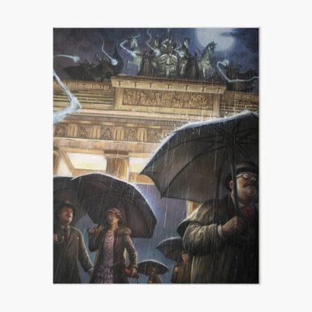 Cthulhuween Day 28 - Brandenburg Gate by Pat Loboyko Art Board Print