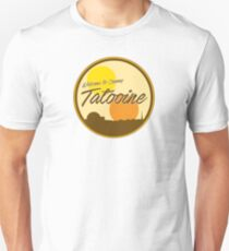 Welcome to Sunny Tatooine Unisex T-Shirt