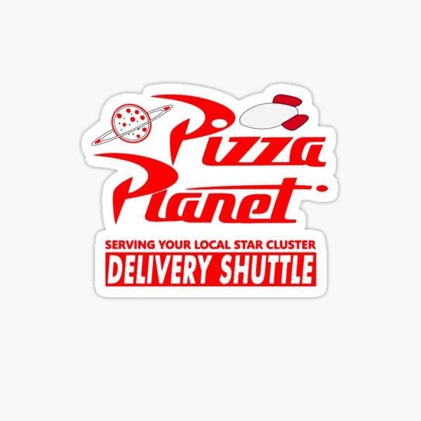 Pizza Planet Sticker
