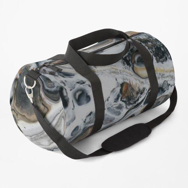 Flood Plain - abstract acrylic painting Duffle Bag