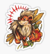 Growlithe  Sticker