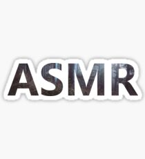 ASMR Graphic Sticker