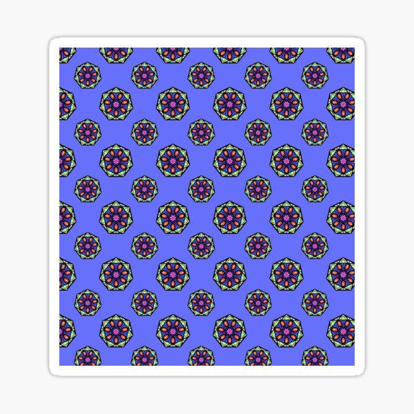 Blue Melon| Patterned Art Sticker