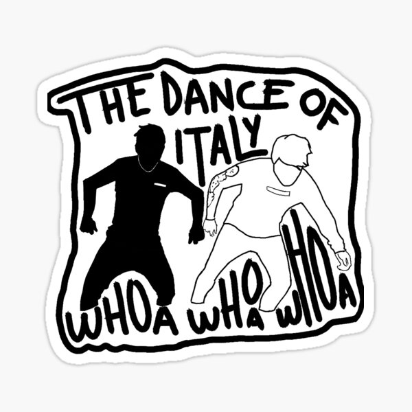 The Dance Of Italy Unus Annus Sticker Sticker
