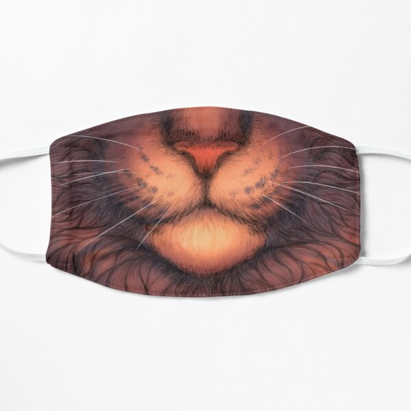 Furry kitty mask - Fluffy Cat Pet - Muzzle Whiskers Animal Mask