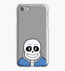 Sans the Skeleton iPhone Case/Skin