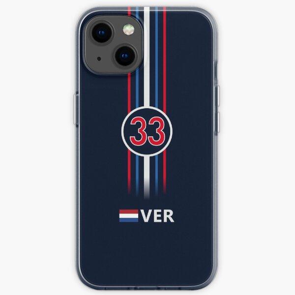 F1 2021 - # 33 Verstappen [Klassiker] iPhone Flexible Hülle