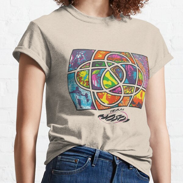 Team Hosoi, Retro Skateboard T-Shirt Design. Classic T-Shirt