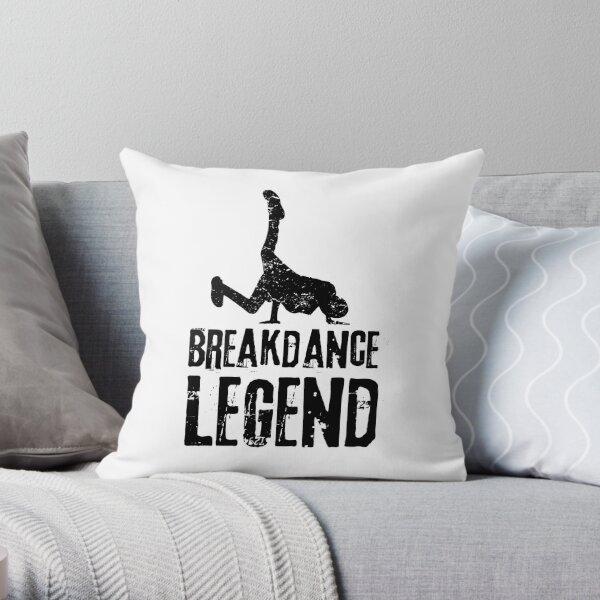 Breakdance Legend Hip Hop Street Dance Gift Throw Pillow