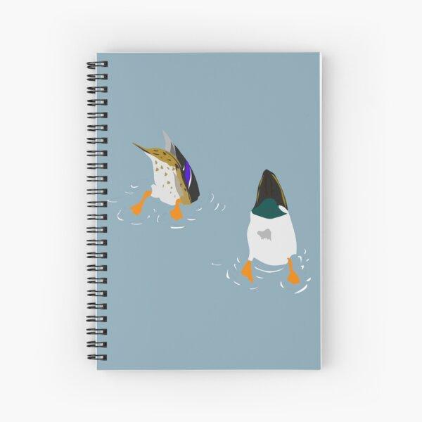 Bottoms Up! Spiral Notebook