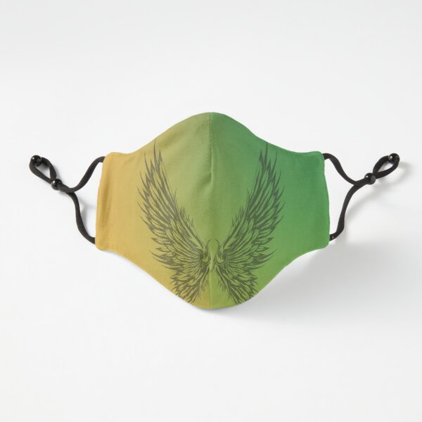 State Of Slay - Yellow and Green Mask Fitted 3-Layer