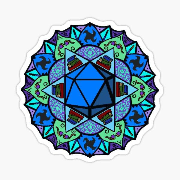 Beauregard mandala Sticker