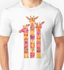 Giraffes – Fiery Palette Unisex T-Shirt