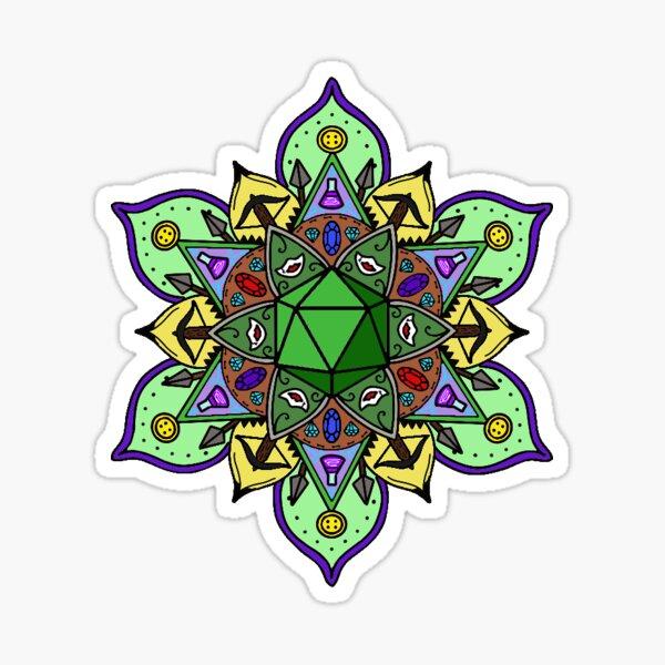 Nott/Veth mandala Sticker