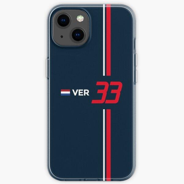 F1 2021 - # 33 Verstappen iPhone Flexible Hülle