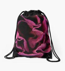 Purple Carnation Drawstring Bag