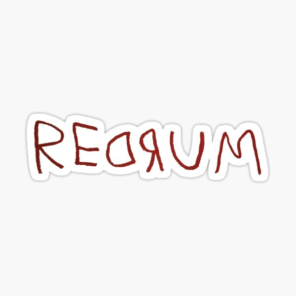 REDRUM - The Shining Sticker