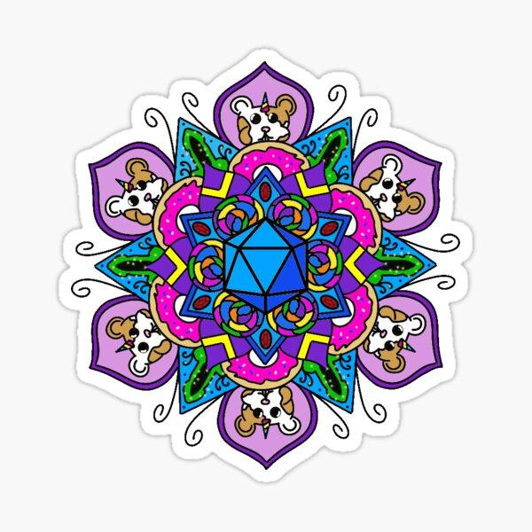 Jester mandala Sticker