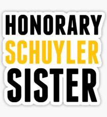 Honorary Schuyler Sister Sticker