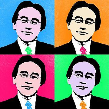 Saturo Iwata Warhol by KITTYHAWK