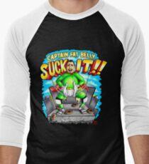 Captain Fat Belly - Unpraktische Joker Baseballshirt für Männer