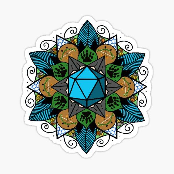 Vexahlia mandala Sticker