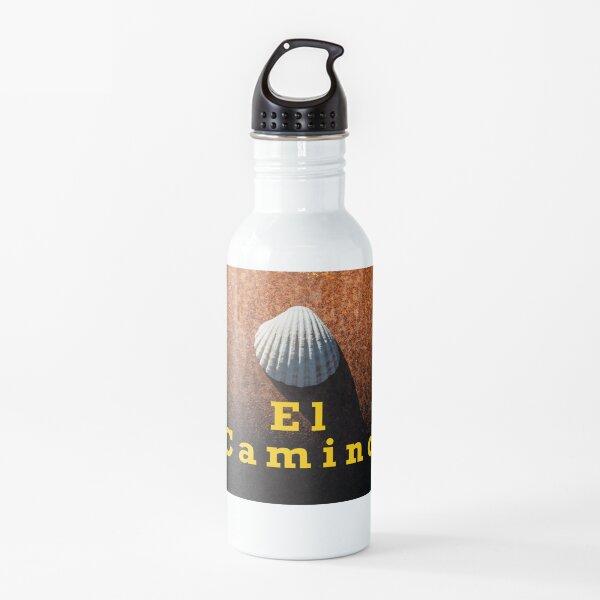 El Camino, Romería de Compostela. Botella de agua