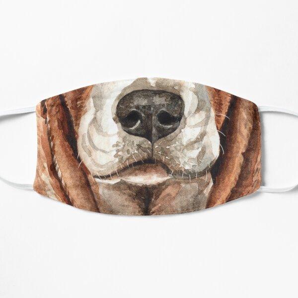 Beagle Face Flat Mask