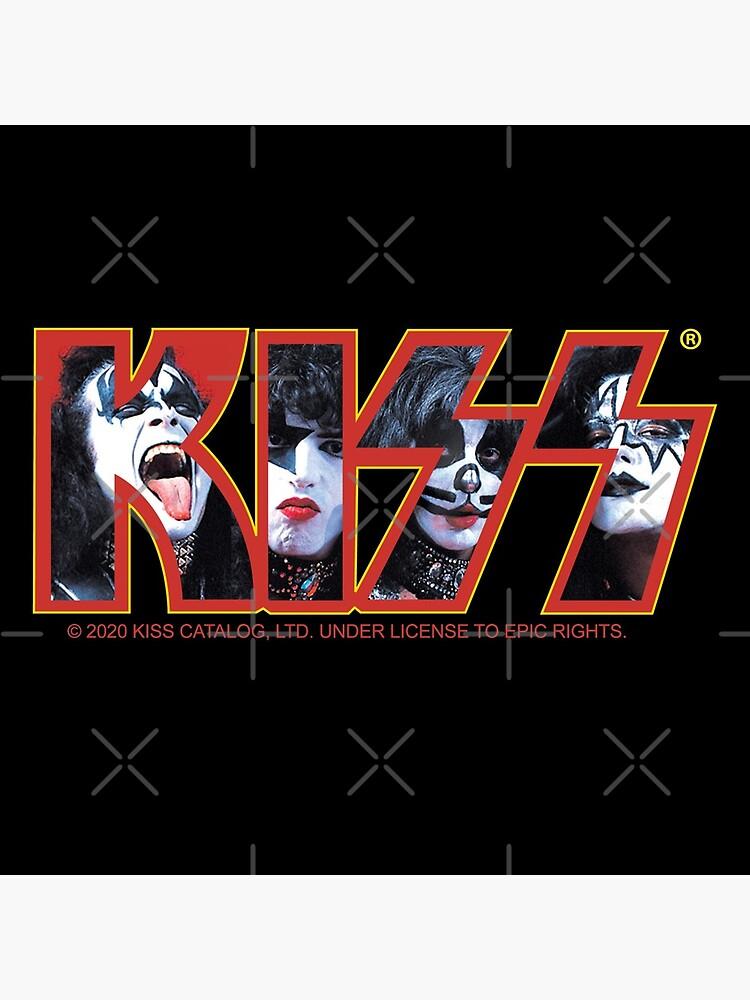 KISS Vintage Band Design by justjonboy