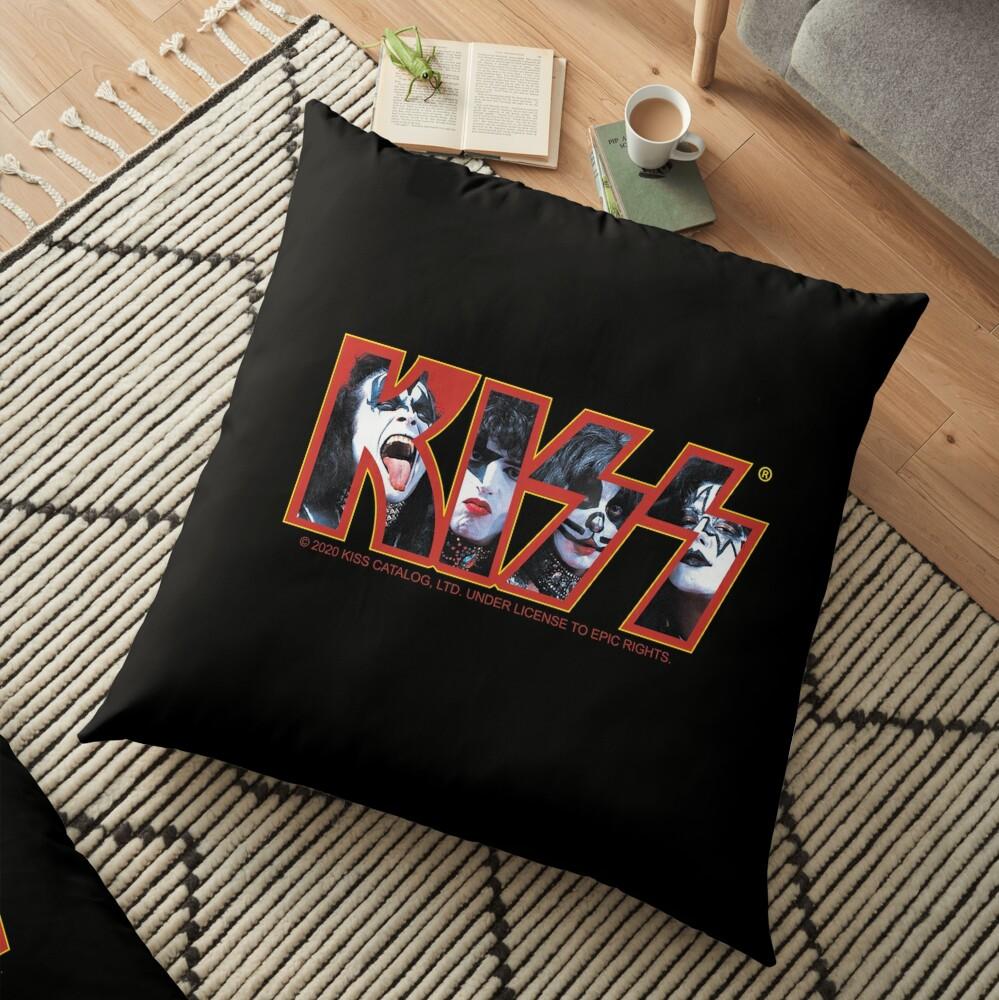 KISS Vintage Band Design Floor Pillow