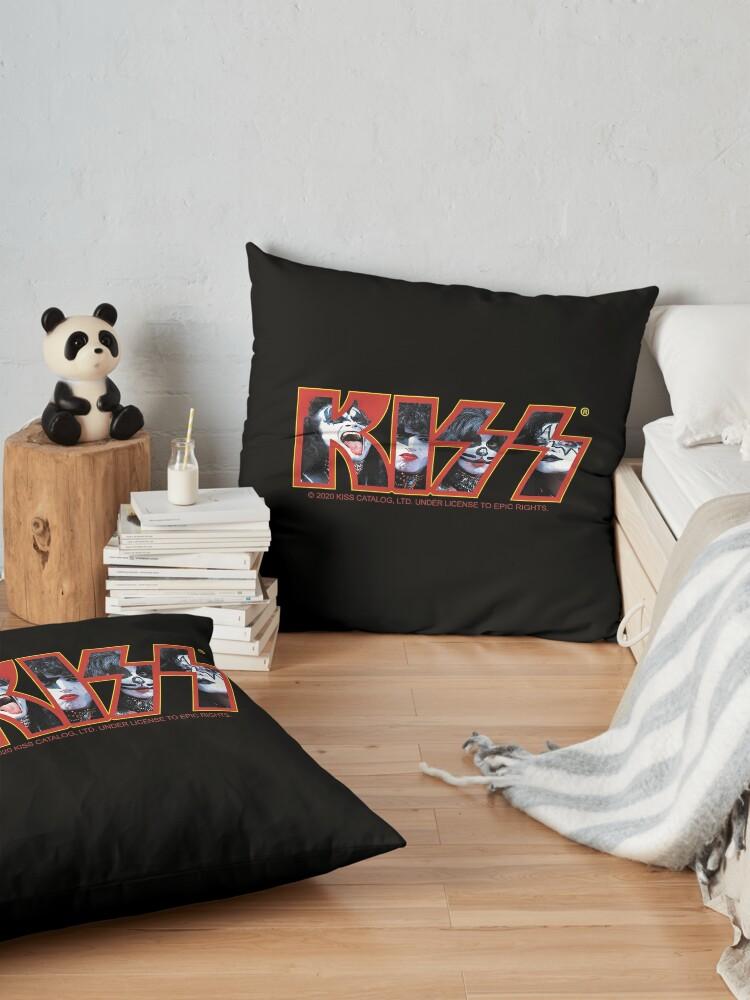 Alternate view of KISS Vintage Band Design Floor Pillow