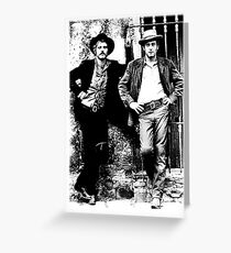 Butch Cassidy and the Sundance Kid 2 Greeting Card