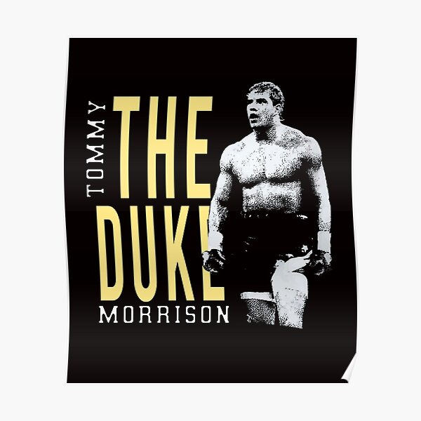 Tommy Morrison Tribute Poster