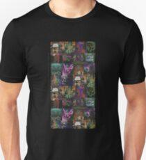 Dark Threads Blotter Art Unisex T-Shirt