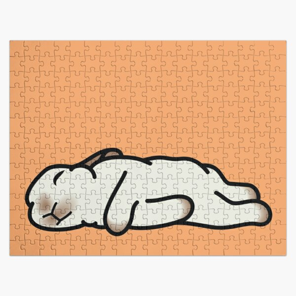 Sleeping Bunny Jigsaw Puzzle