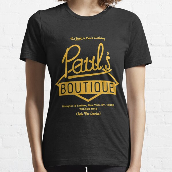 Paul'sx Boutique The Best in Men's Clothing. Diamond Logo (Gold) T-Shirt Essential T-Shirt