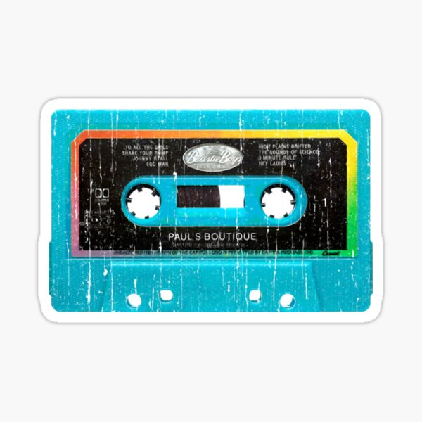beastie boys paul's boutique cassette T-Shirt Sticker