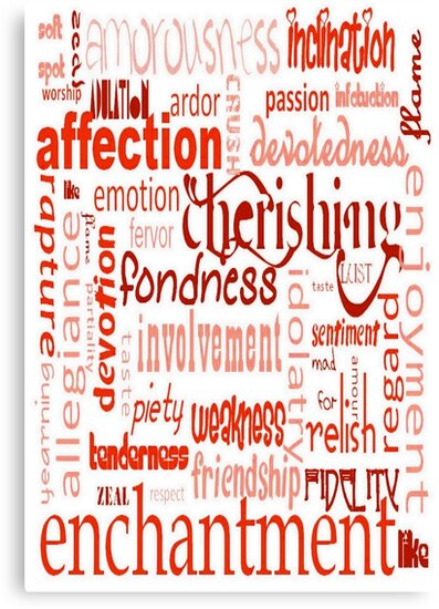 What Is Love Word Cloud by taiche
