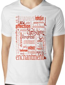 What Is Love Word Cloud T-Shirt