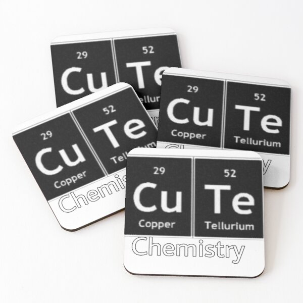 Chemistry Coasters (Set of 4)
